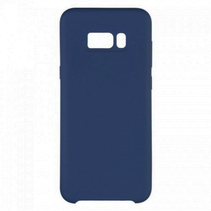 Чехол накладка под оригинал Soft Matte для Samsung Galaxy S8 синий